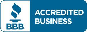 BBB accreditation logo