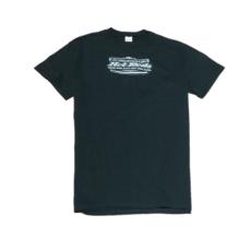 black men's shirt with Prescott Hot Rods logo