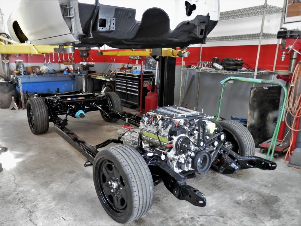 Supercharged LT4 6.2L SC