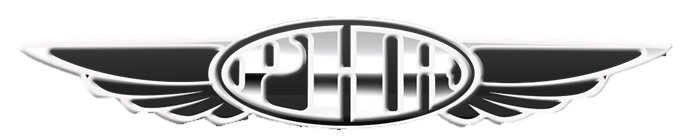 Prescott Hot Rods logo with wings