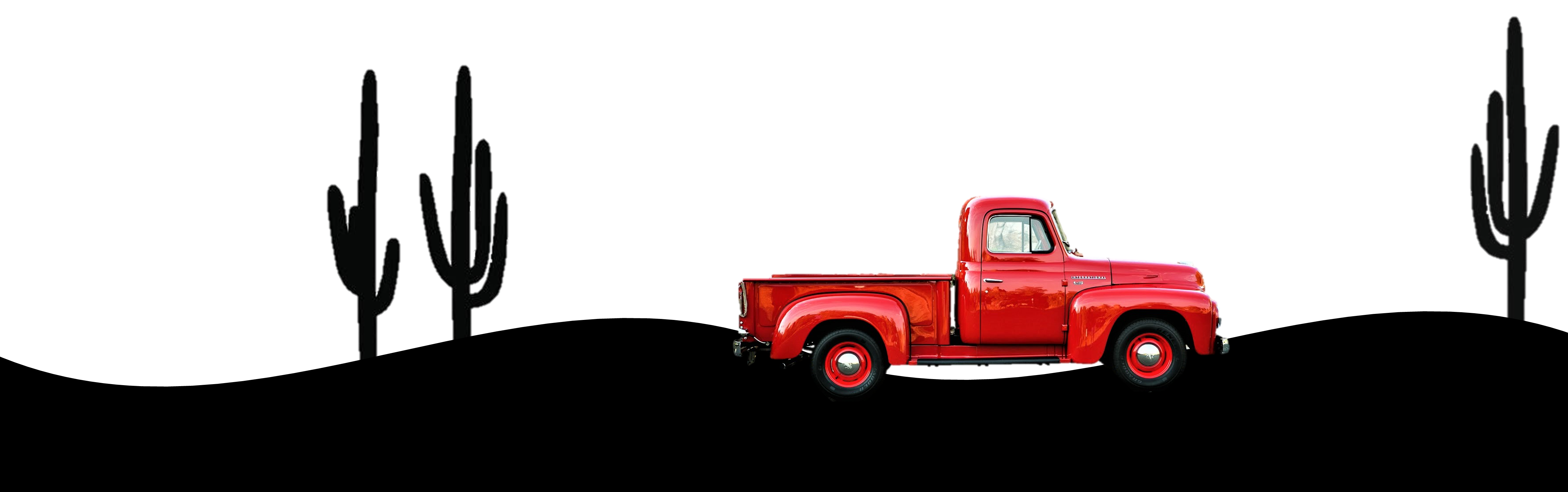 red truck image