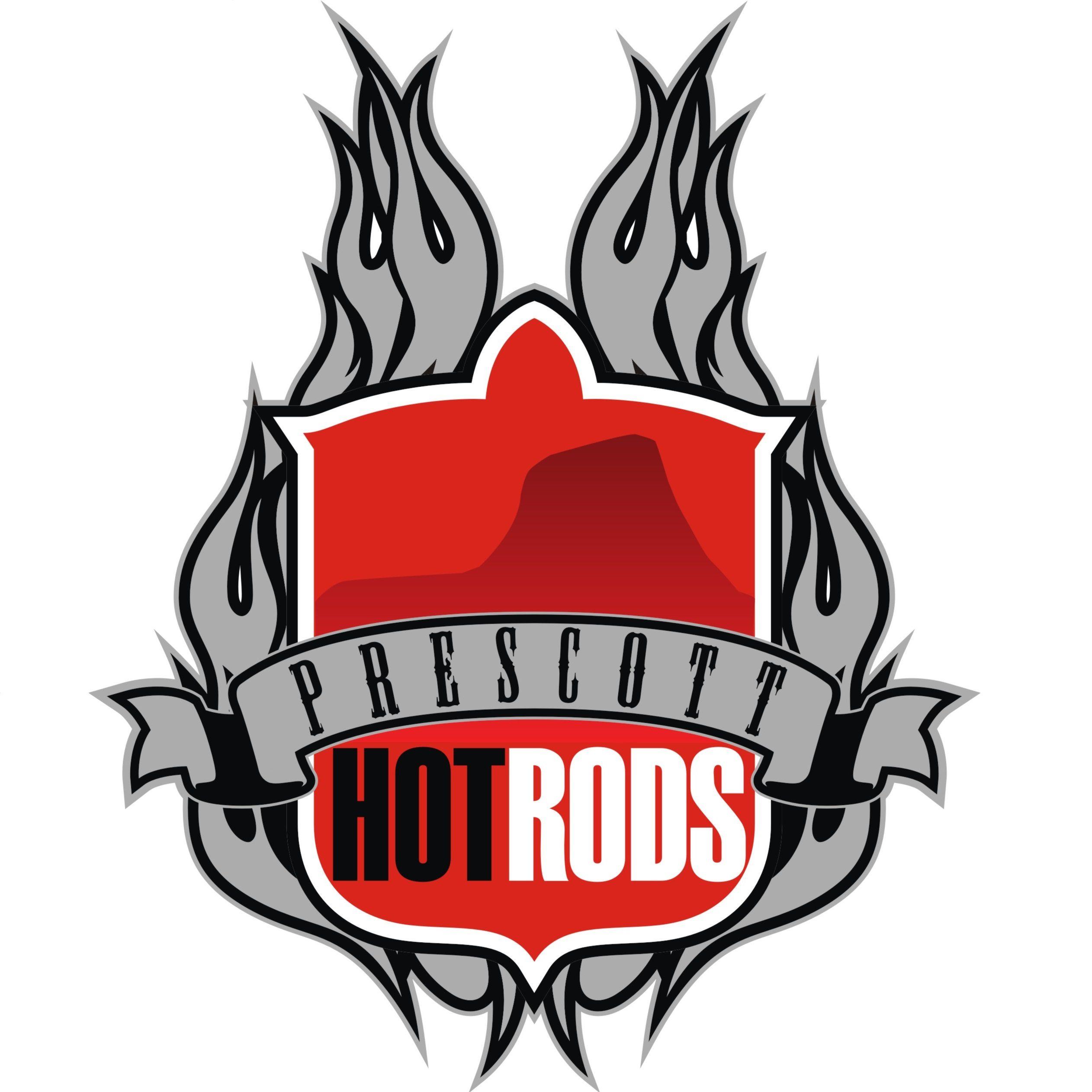 Prescott Hot Rods flame logo
